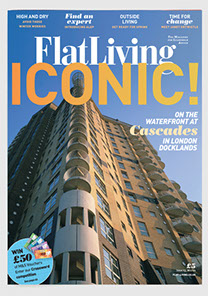 Flat Living magazine design & art direction by Nick McKay. Cover